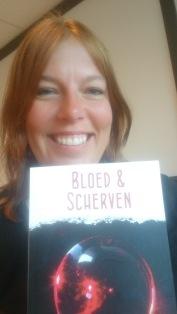 selfie met mijn boek!