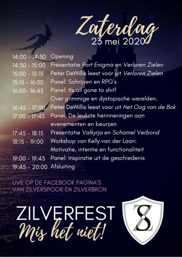 Zilverfest programma zaterdag