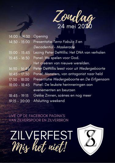 Zilverfest programma zondag